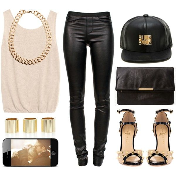 A fashion look from April 2013 featuring Helmut Lang pants, Ivanka Trump pumps and Forever 21 clutches. Browse and shop related looks.