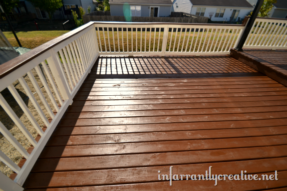 Staining A Deck Infarrantly Creative Staining Deck Wood Deck