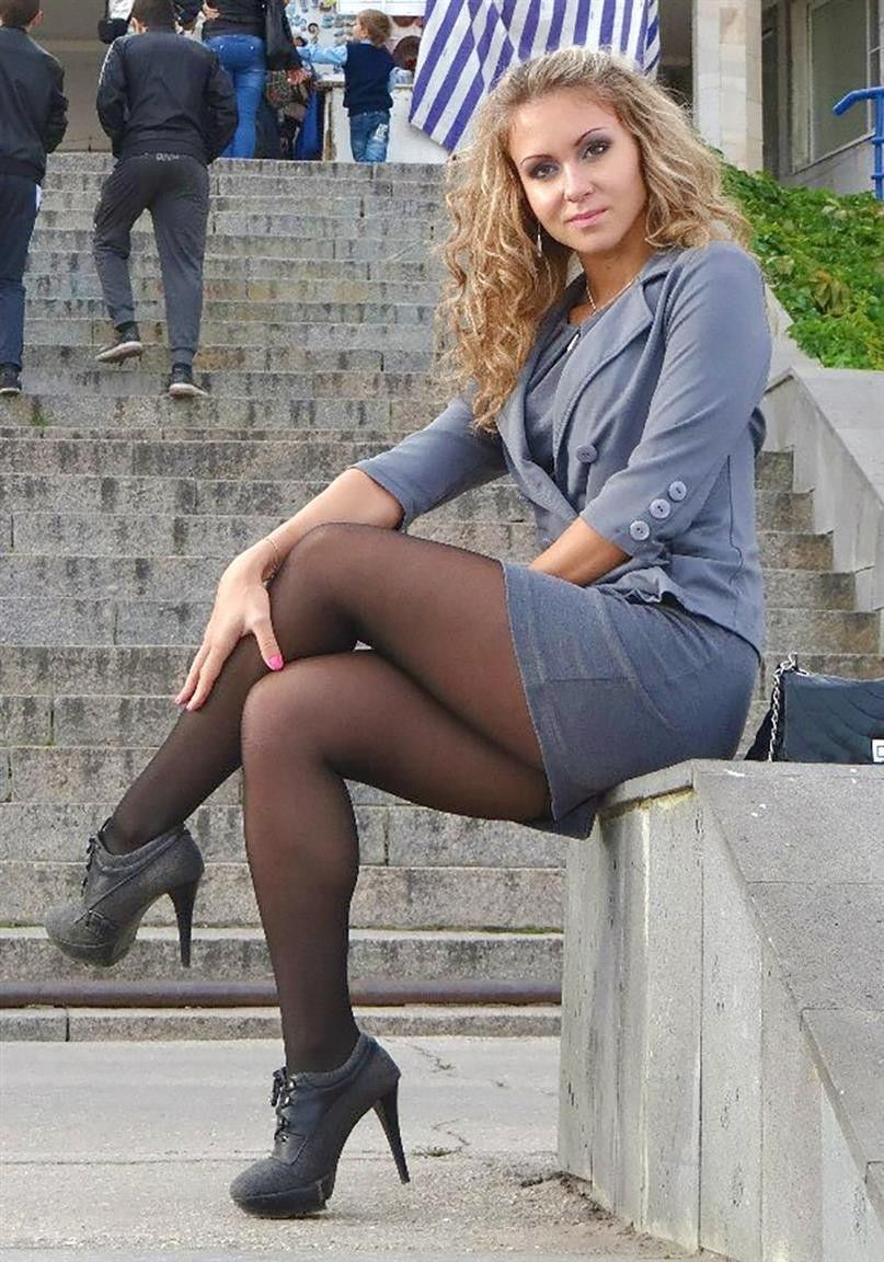 Think, that bound with pantyhose