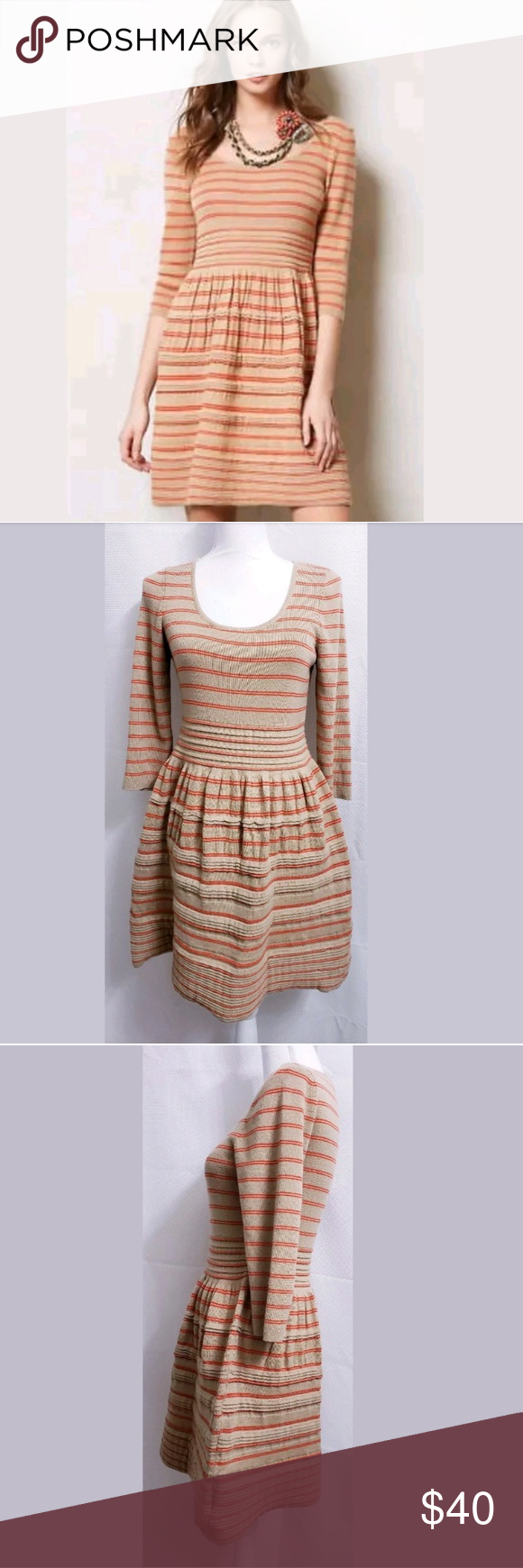 083745247d5 Knitted  amp  Knotted Elodie Striped Sweater Dress L This is a Knitted   amp  Knotted
