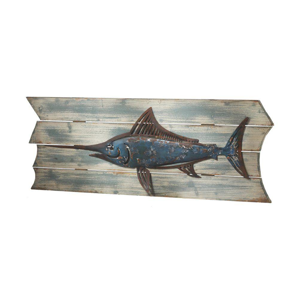 Shop midwestcbk swordfish wall decor at atg stores browse