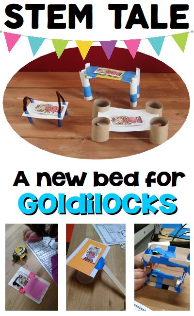 goldilocks and the three bears stem engineering design challenge stem tale teachers pay. Black Bedroom Furniture Sets. Home Design Ideas