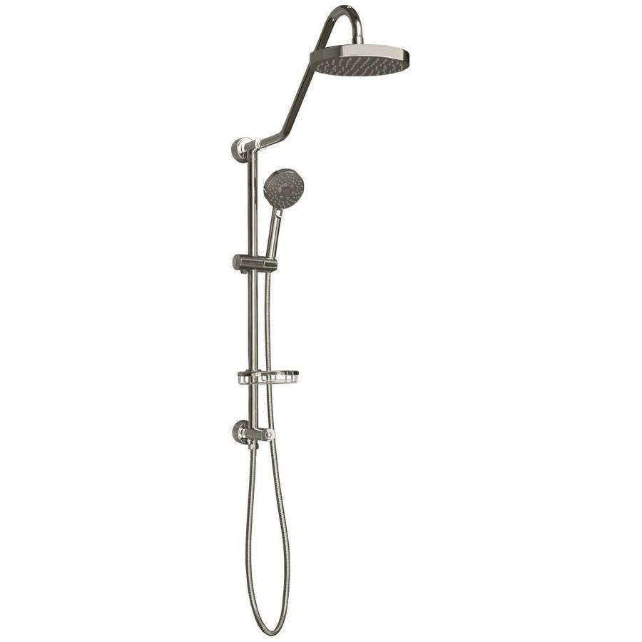 Pulse Retro Line Chrome 1 Spray Rain Shower Head Shower Head