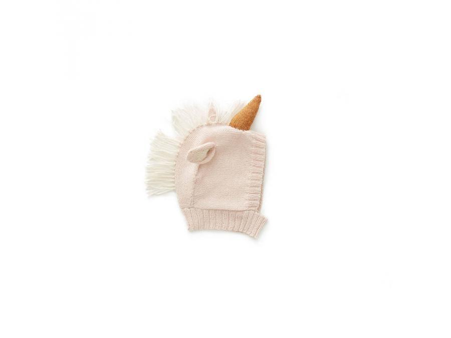 8b08e991c08a Oeuf Baby Clothes - Cagoule rose licorne en Alpaga  jeux  jouet   puériculture