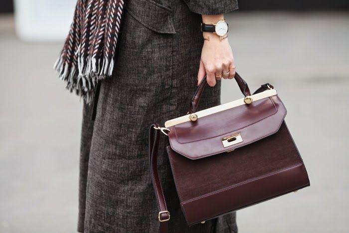 #h&m #dustercoat #burgundy #fashion #style #trend #fashionweek