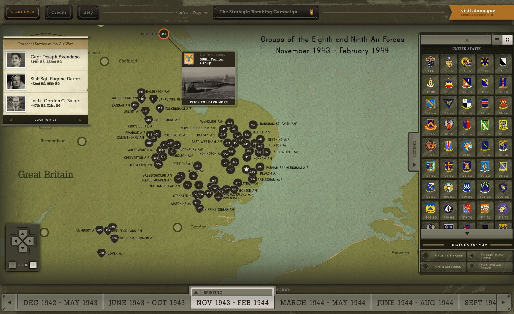 During World War II, Allied strategic bombing destroyed crucial German infrastructure, degraded critical logistics, damaged civilian morale, and forced the German air force into losing battles. It contributed heavily to Germany's eventual surrender in May 1945. To help tell this story and explain its significance, the American Battle Monuments Commission has released theStrategic Bombing Campaignonline interactive. This free, digital tool covers all aspects of the campaign, and allows the…