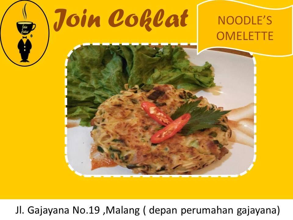 Noodle S Omelette Cafe Murah Malang Kota Cafe Recommended Murah