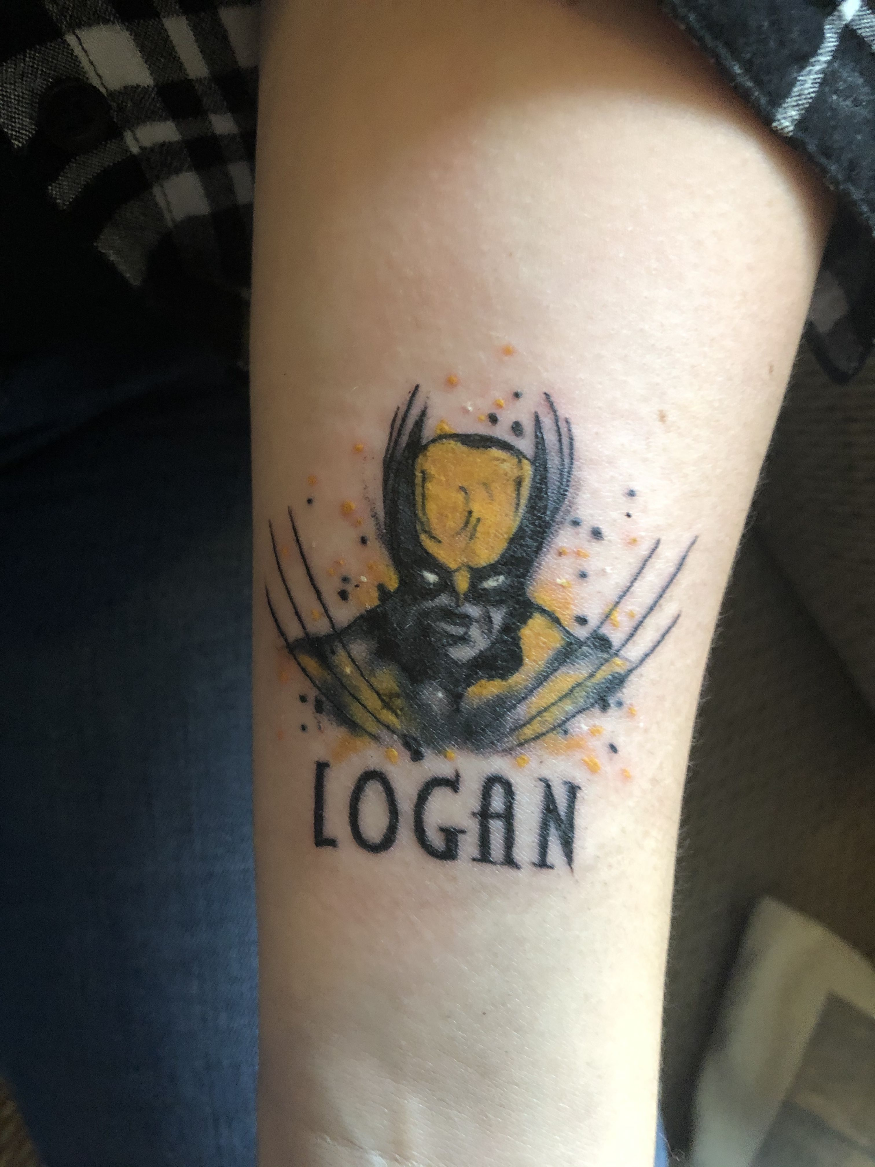 Pin by amanda sawler on batman tattoo wolverine tattoo