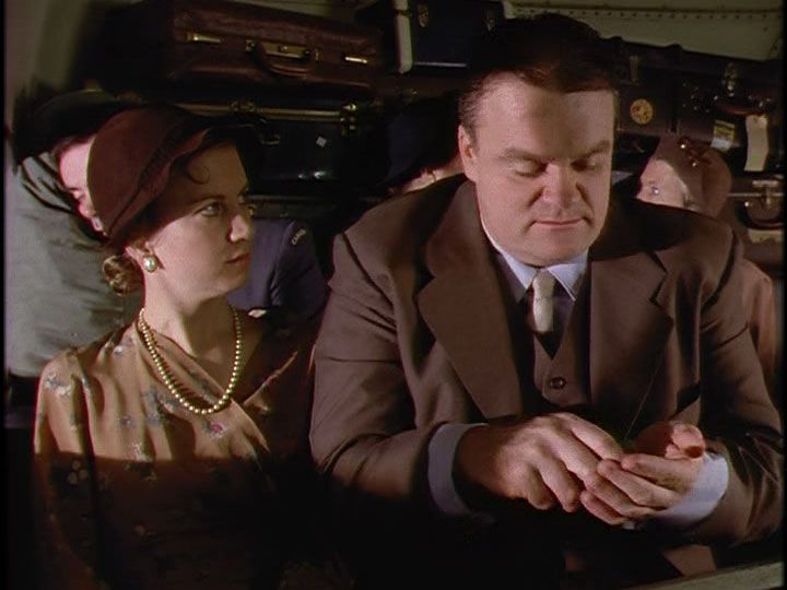 GRACE: You got another Chiclet?  JUDD: Sure. You're not eatin' these are ya?  You're not supposed to swallow em'. They'll just tie up your insides like rubber bands. (Four Walls and a Roof Pt 2)