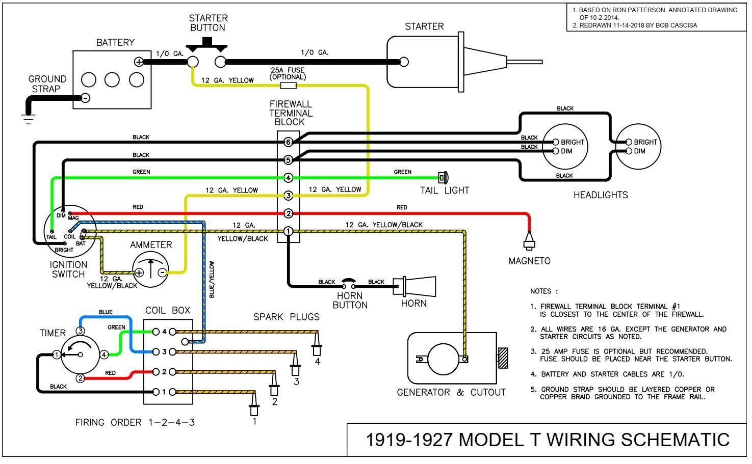 Troubleshooting The Model T Ford Charging System By Ron Patterson And Bob Cascisa Model T Ford Fix Model T Diagram Electrical Components