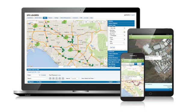 GPS Fleet Tracking Features - Fleet Tracking Software