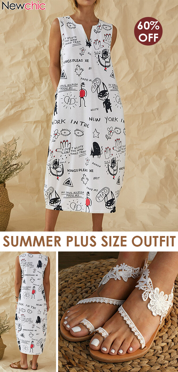 Summer Dress Outfit Idea. #ChicOutfit #cute #EffortlesslyChicOutfits