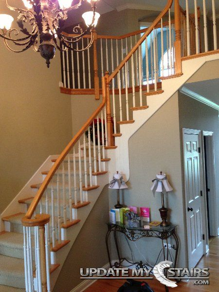Best Before White Painted Builder Grade 5015 Wooden Balusters 400 x 300