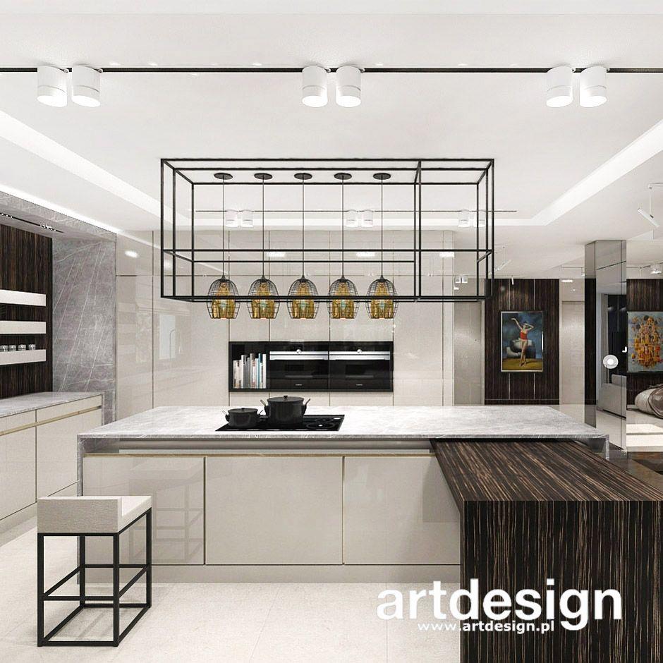 Pomysl Na Kuchnie Z Wyspa Place In The Sun Wnetrza Domu W2 Home Interior Design Design