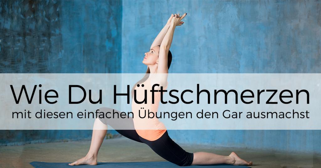 Hüftschmerzen - 7 wirksame Übungen für eine gesunde Hüfte..