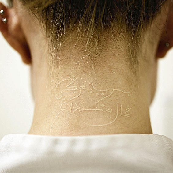 I want electronics inked in my neck like this