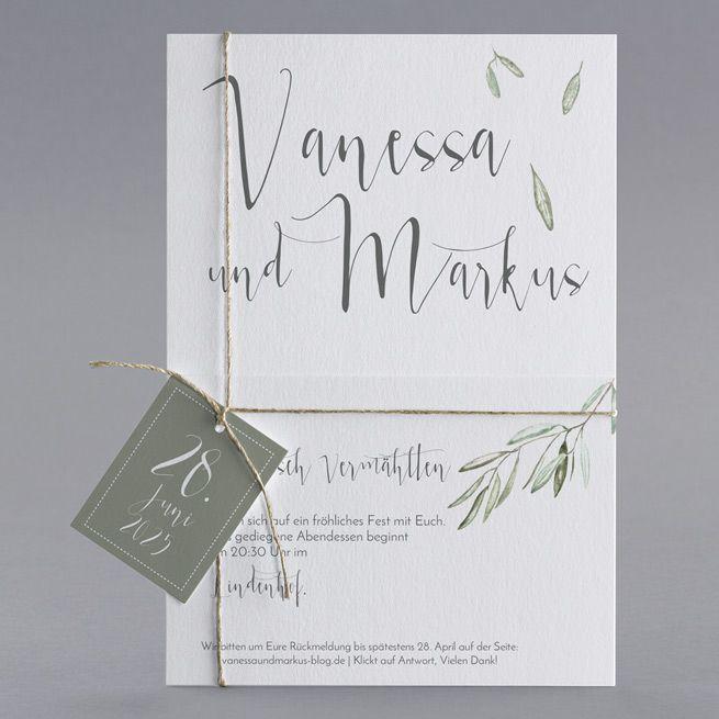 Unsere Hochzeitskarte Oliver Karte Hochzeit Hochzeitseinladung Einladungen Hochzeit