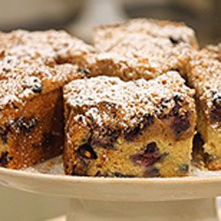 Twelve recipes perfect for brunch, including classic cinnamon coffee cake and cherry-streusel coffee cake.