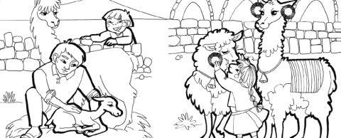 Dibujos Para Colorear Ii Peru Sketches Dibujo Y Ideas