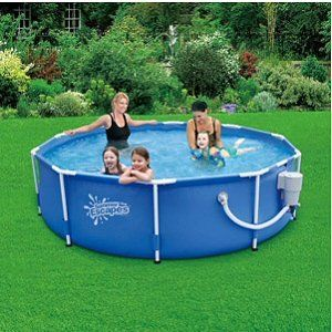Round Frame Pool 10 X 30 With 580 Gph Skimmerplus Filter Pump Https