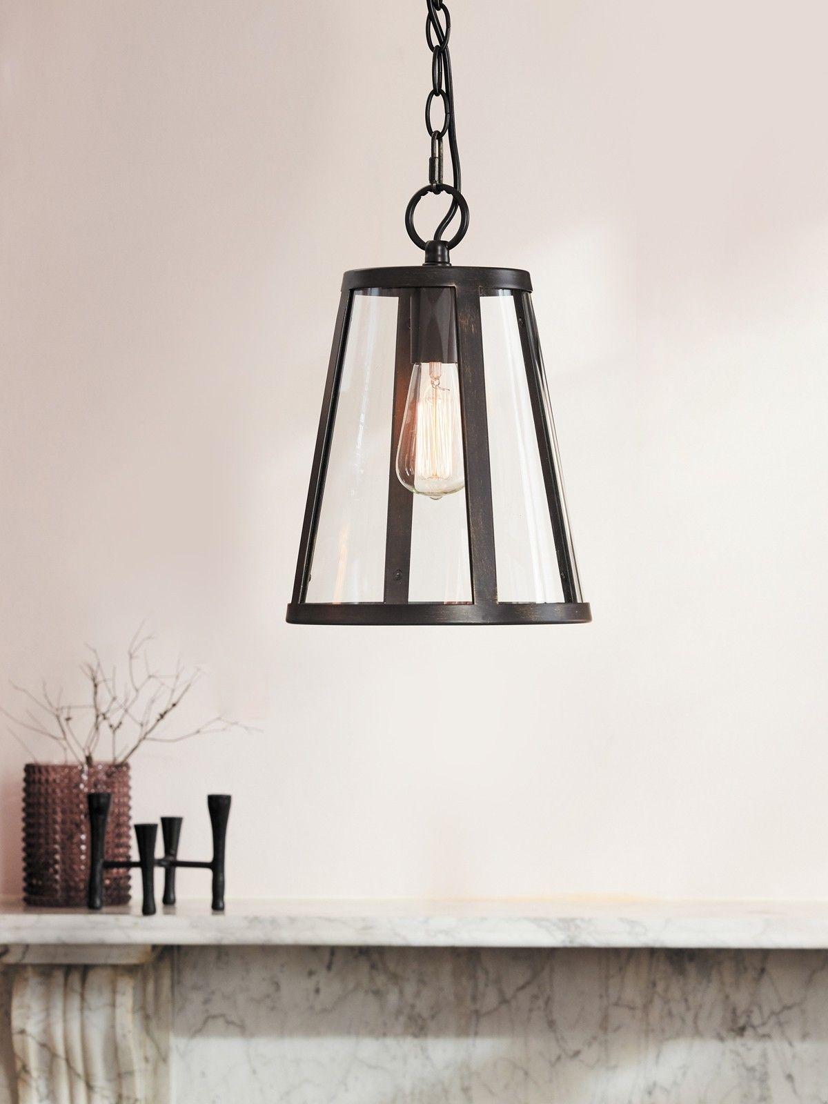 Westhampton 1 Light Pendant in Antique Black Pendant
