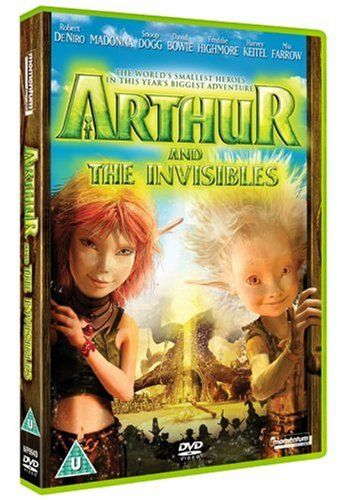 Differences and similarities between Arthur and the Invisibles book and film?