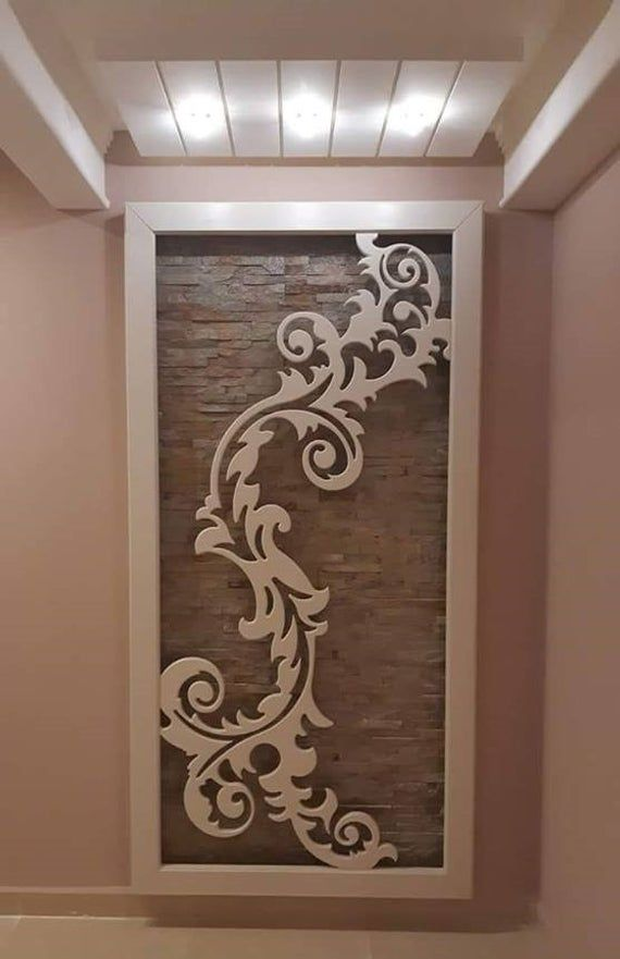 Decorative Panel Grille Pattern  Vector dxf, cdr for CNC