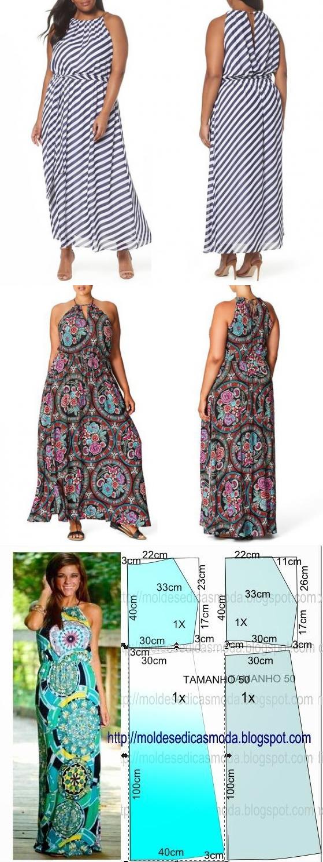 La costura | los patrones simples | las cosas simples. El sarafán ...
