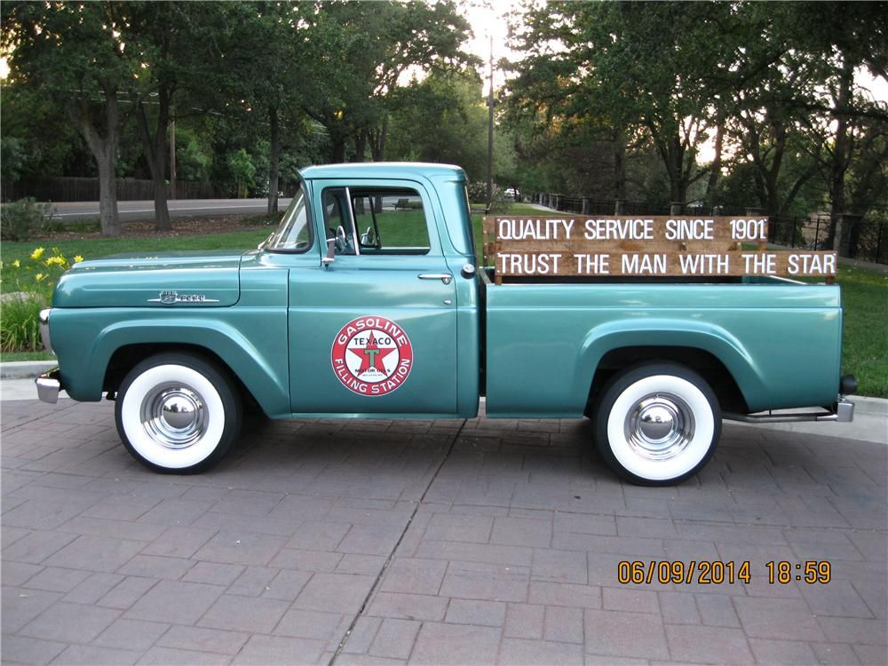 For Sale At Auction The Frame Off Restoration On This  Ford F  Was Completed In  Powered By A Cid  Cylinder Engine And  Speed Manual