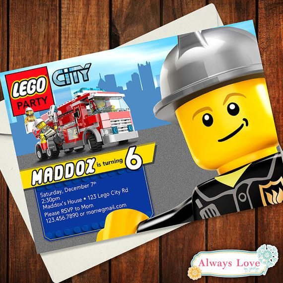 Custom LEGO CITY Police