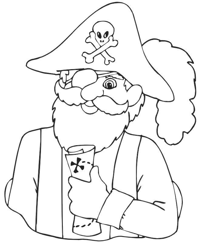 pirater målarbilder för barn 15  konstlektioner