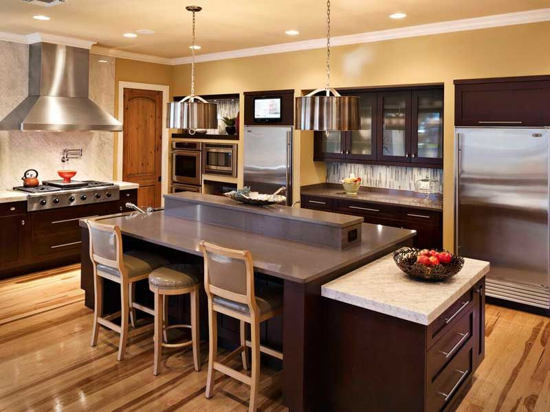 High End Kitchen Design 75 Kitchen Design And Remodelling Ideas Before And After
