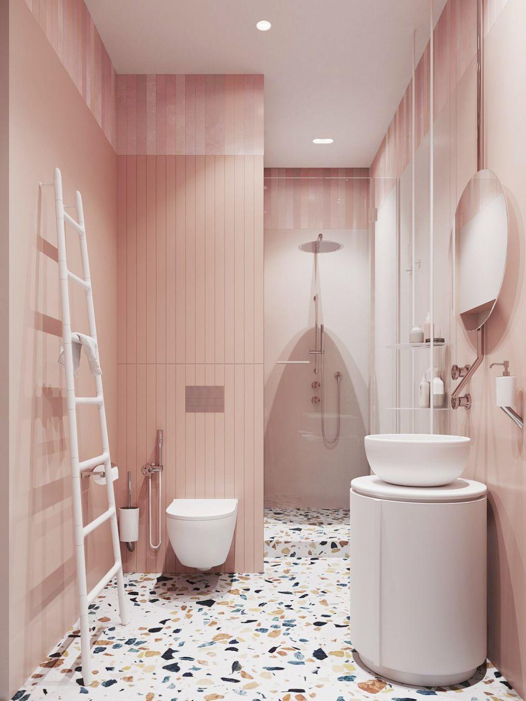 Modern Style Bath Wall Mount Towel Holder And Robe Hook By Comfify Bathroom Tile Designs Amazing Bathrooms Bathroom Decor