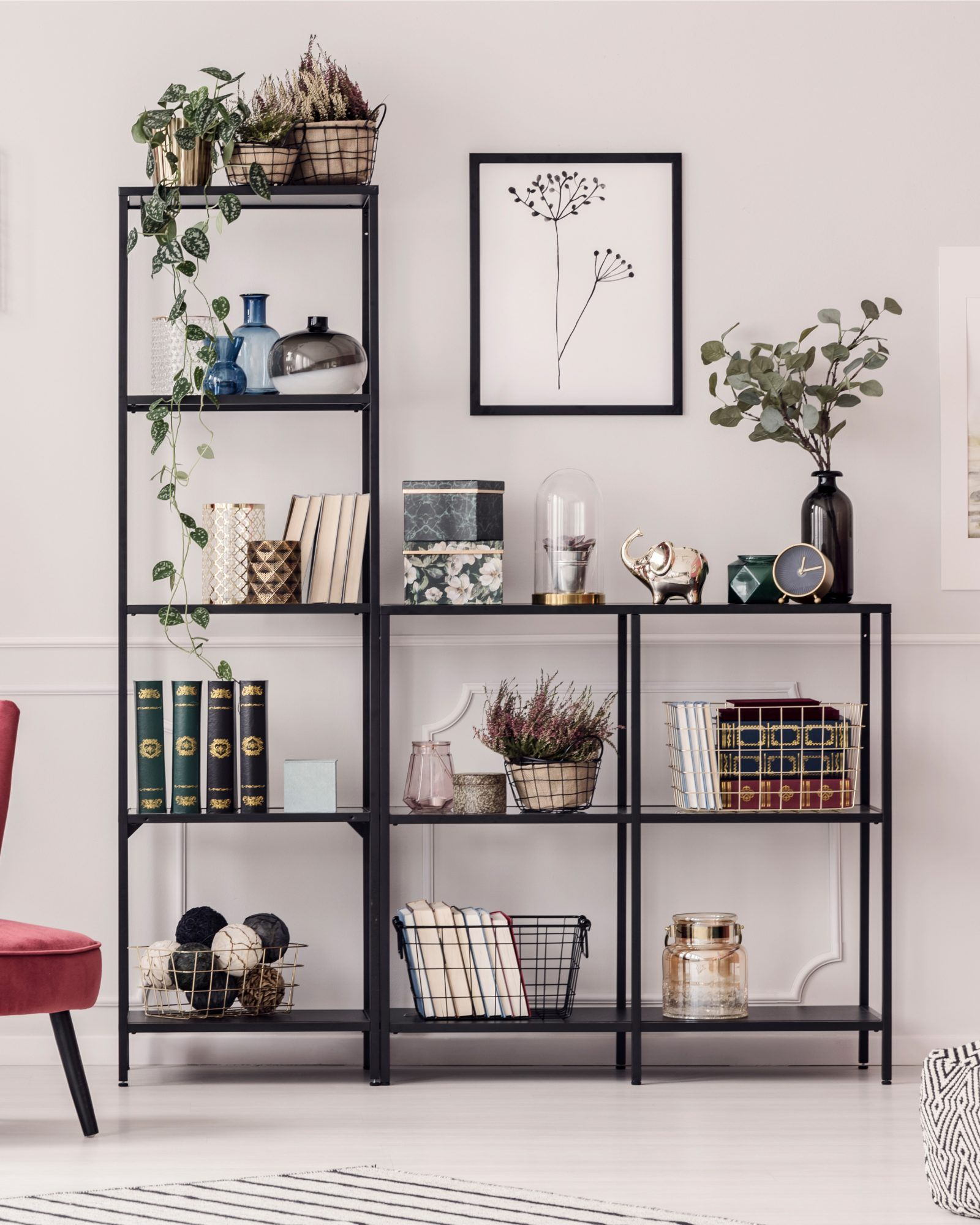How To Style Your Bookcases To Reflect Your Personality