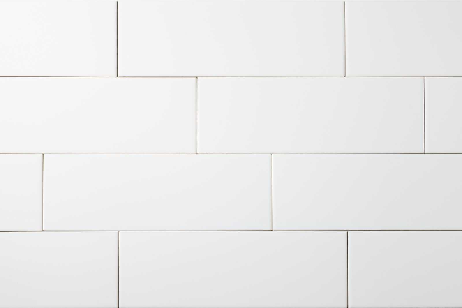 Manhattan 4 x 12 - Snow White Glossy Subway Tile | Storka