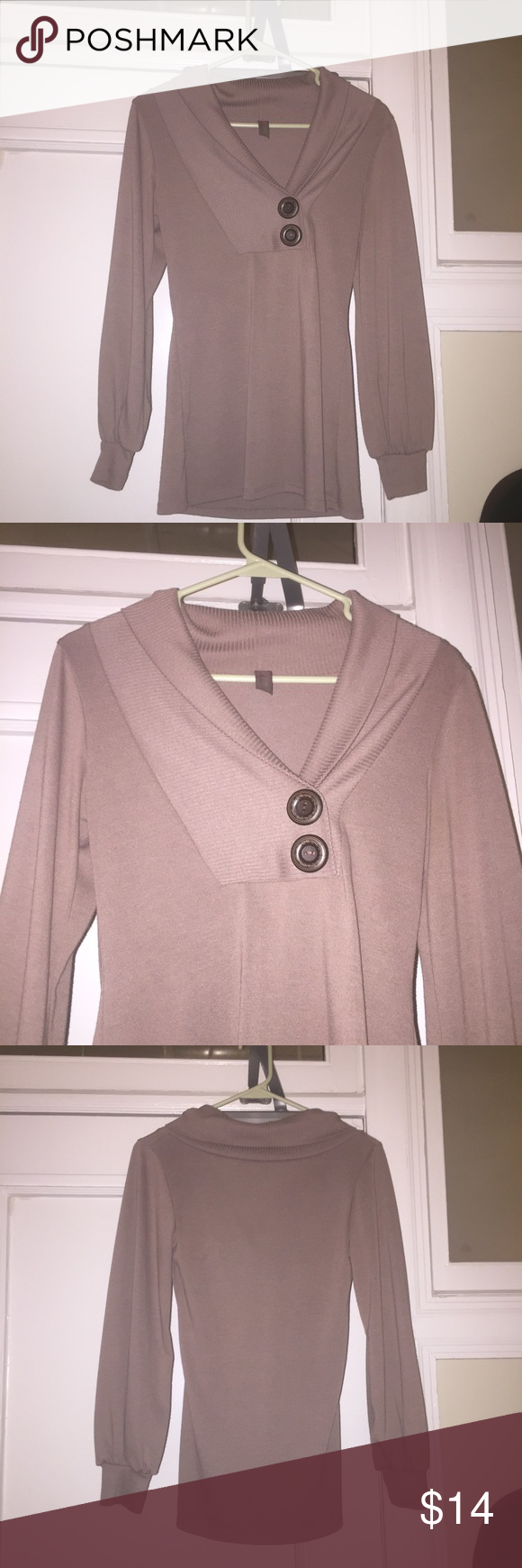 Cute Francesca's Sweater | Conditioning, Brown and Customer support
