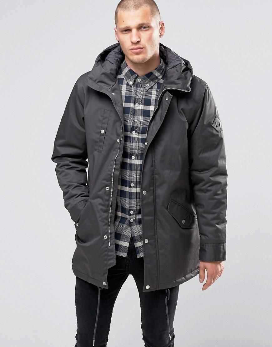 a6cb4a18df7 Fat Moose | Fat Moose Outskirts Parka Quilted Lining at ASOS ...