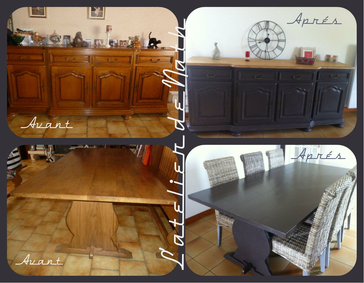 Relooker Salon.html Customiser Une Table De Salle Manger Table With