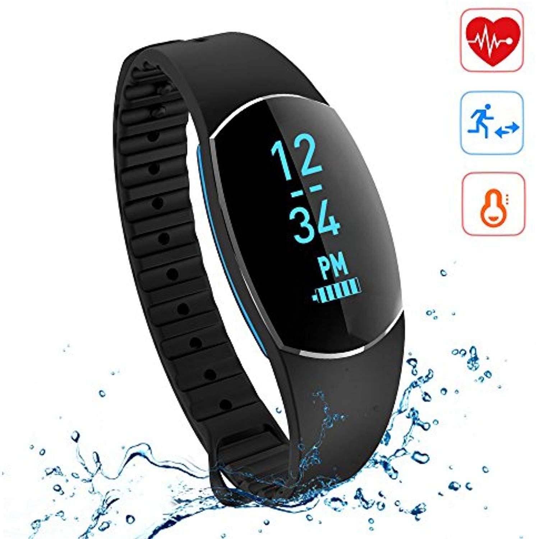 Fitness activity tracker watch sanwo bluetooth 40