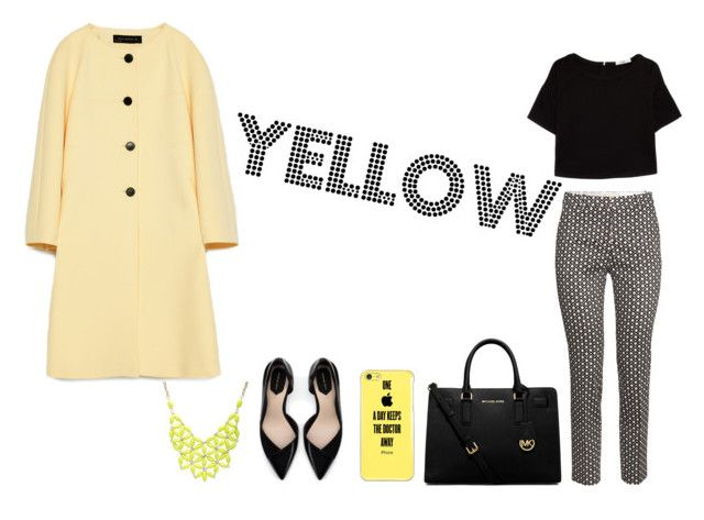 """Yellow"" by lucillam on Polyvore"
