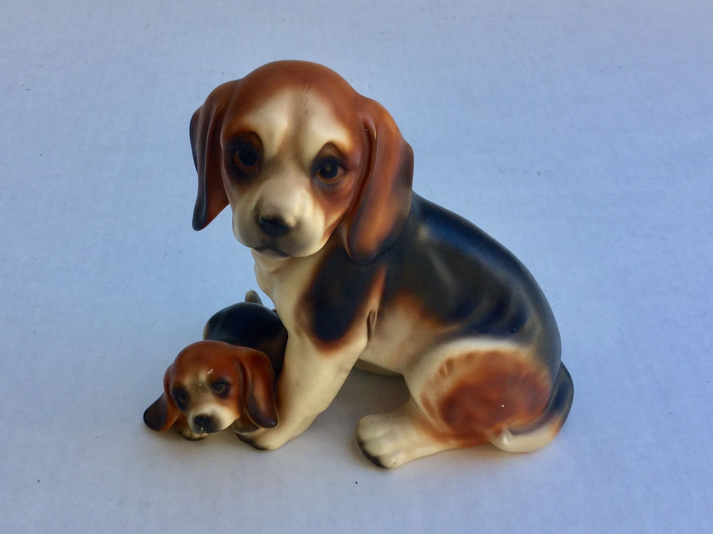 Beagles Mom Pup 6 Tall X 7 Wide 15 Beagle Dogs Pup