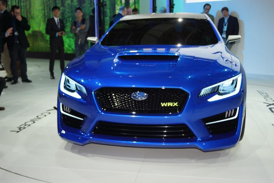 Introducing The Wrx Concept Car Front View