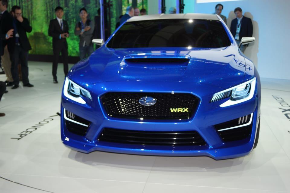 Introducing The Wrx Concept Car Front View Subaru Wrx Concept
