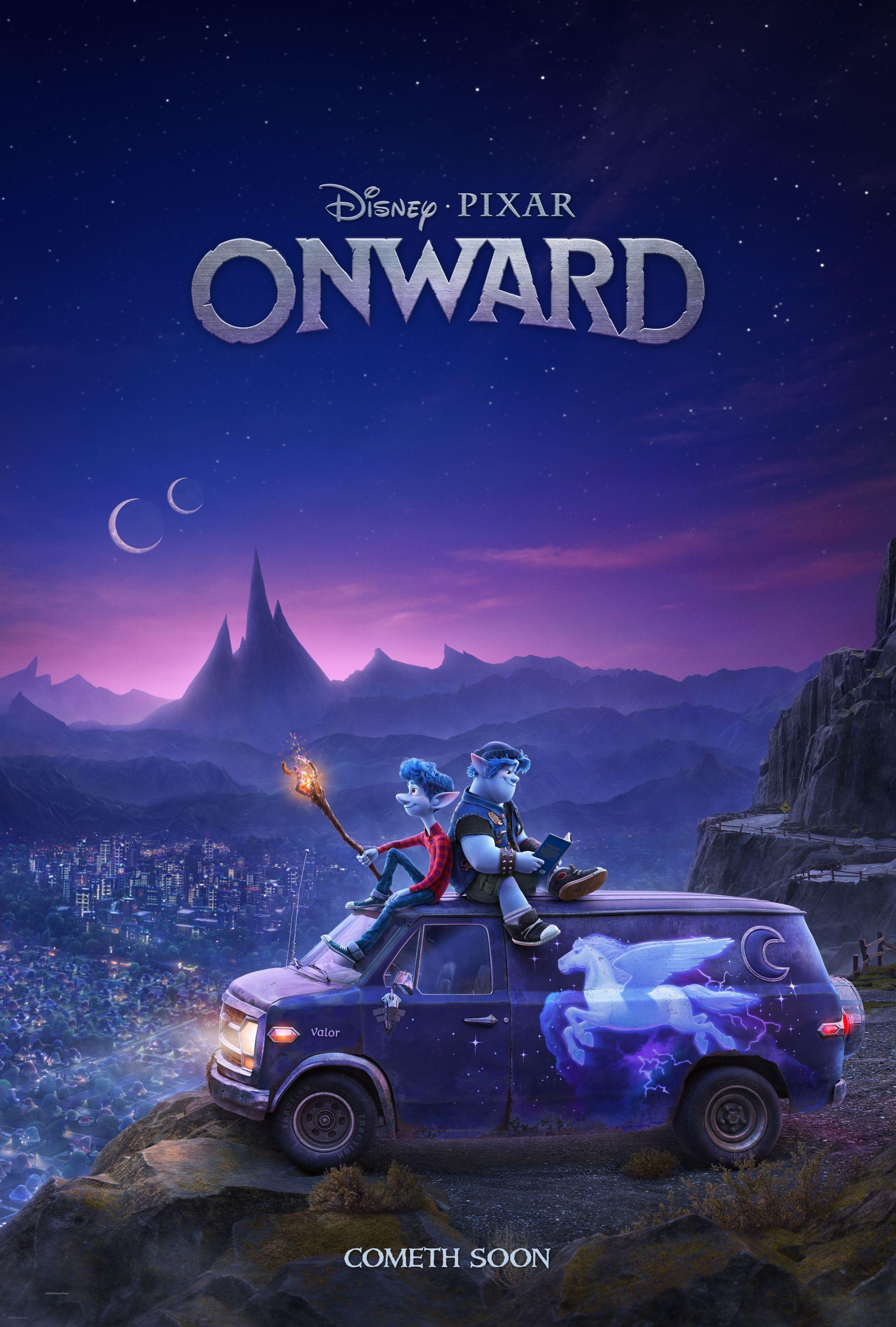 First Look Disney And Pixar S Onward With Images Pixar