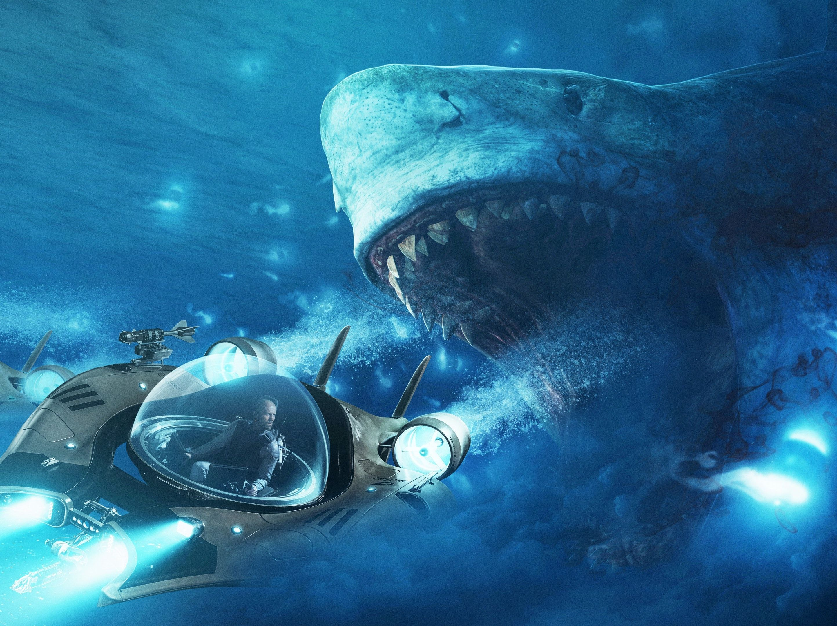 The Meg Review It S A Jason Statham Movie Not A Shark Movie