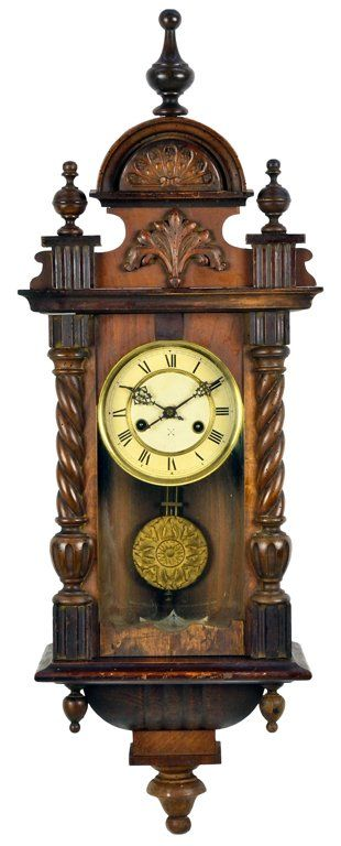 An Antique French Victorian Wall Clock C Early 20th Century France Victorian Wall Clocks Wall Clock Clock