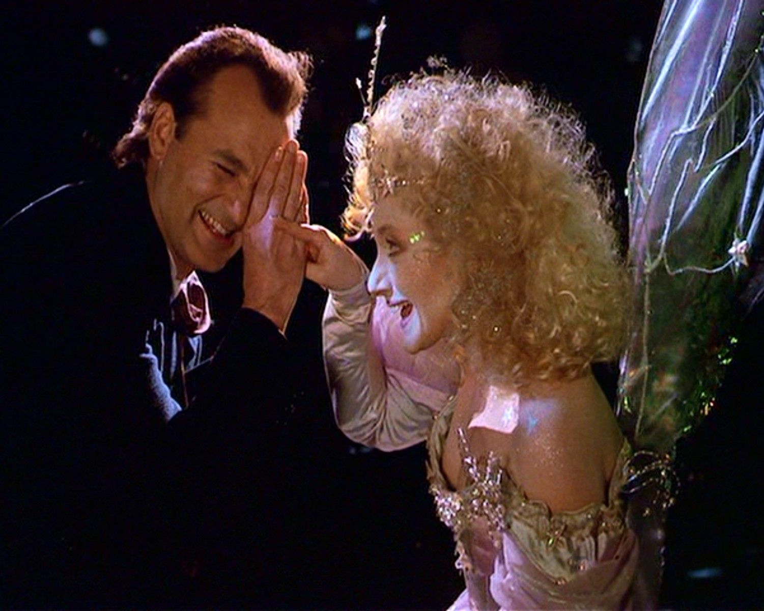 Scrooged ~ Now people say I'm a lot like that fairy, but I'm not ...