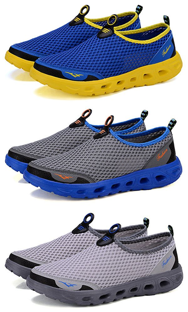 Hommes Maille En Nid D'abeille Respirant Chaussures Casual Chaussures En Amont 3kI8W