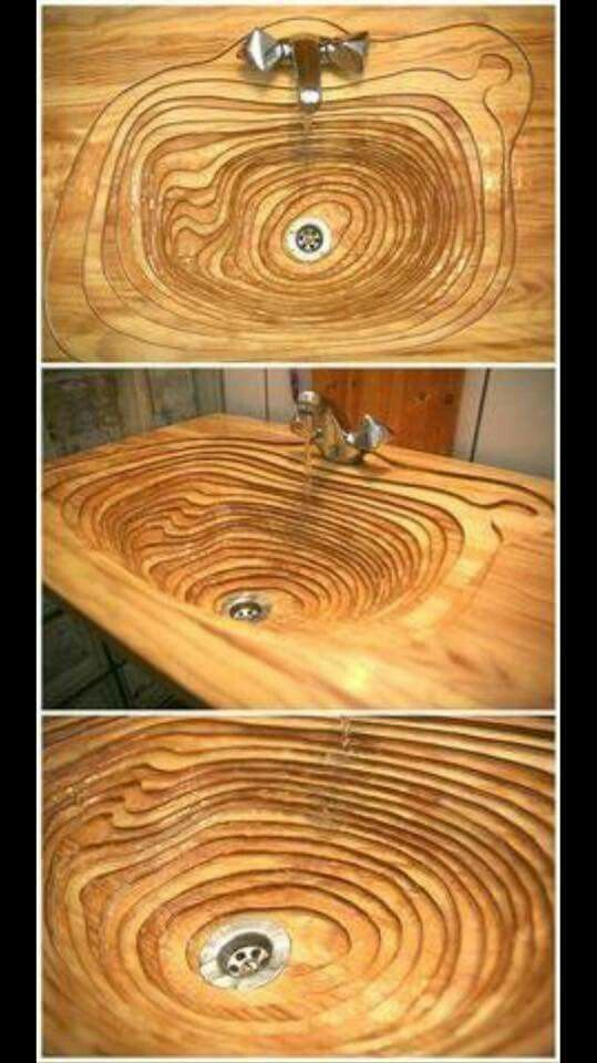 Gorgeous! Would love it made of stone - would probably be much easier to clean, too! x)