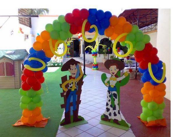 muyamenocom fiestas infantiles decoracin con toy story